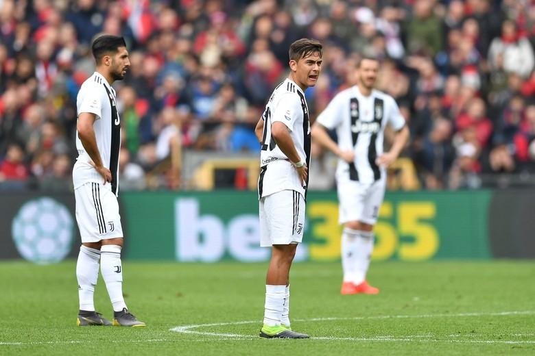 Genoa Runtuhkan Kedigdayaan Juventus di Liga Italia Musim Ini