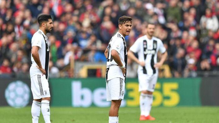 Paulo Dybala tak setajam musim lalu. (Foto: Valerio  Pannicino/Getty Images)