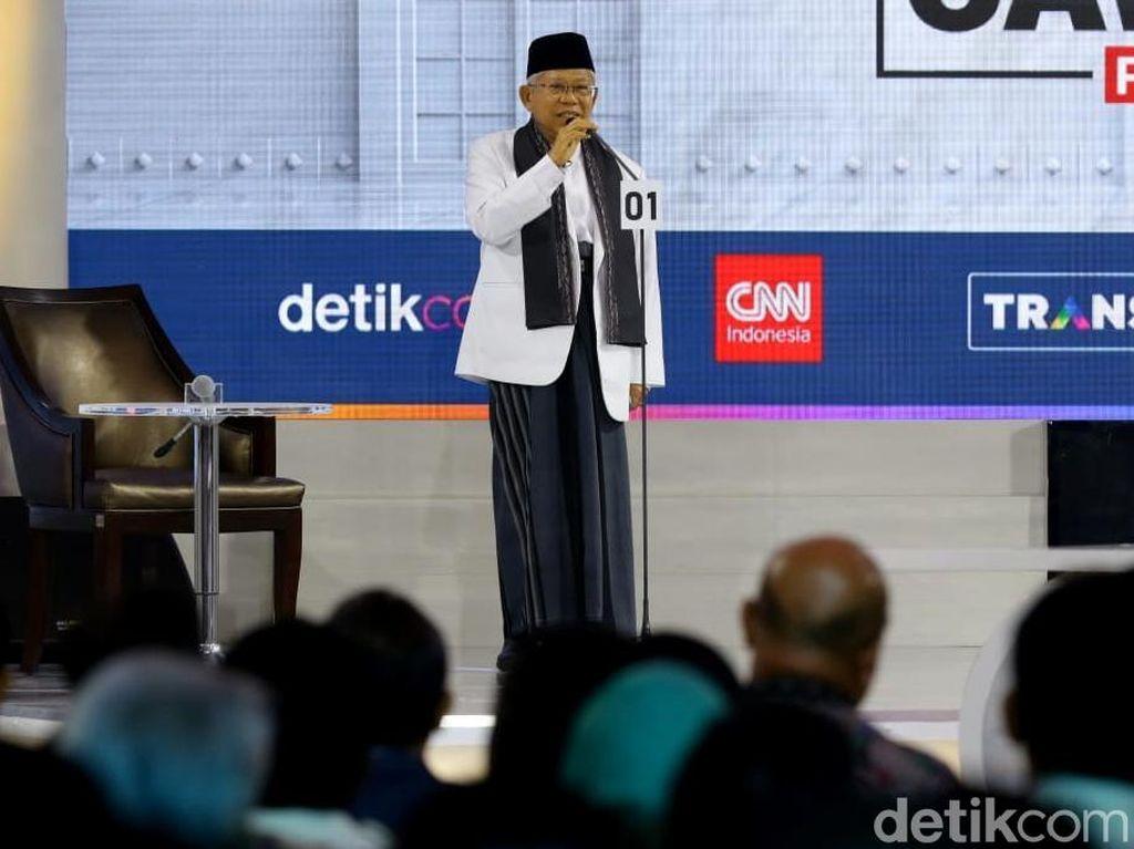 Membaca Taktik Politik 10 Years Challenge Maruf Amin