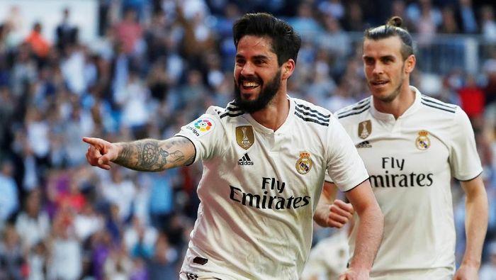 Isco menjadi pemain kesepuluh real Madrid yang dibekap cedera. (REUTERS/Susana Vera)