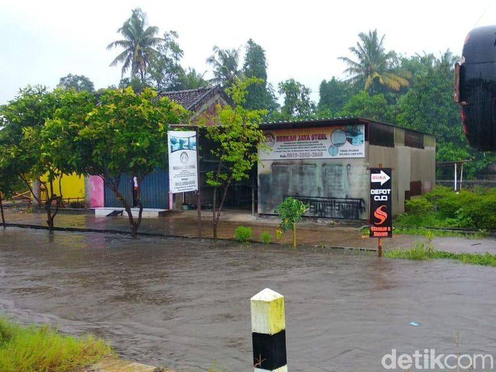 Hujan Deras, Air Sungai di Bantul Meluap