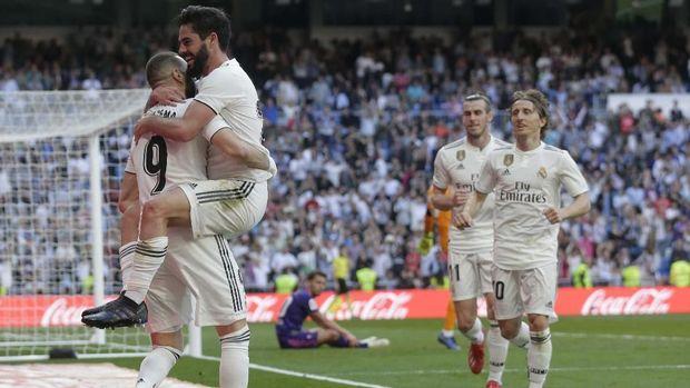 Real Madrid kalahkan Celta Vigo 2-0 di Bernabeu.