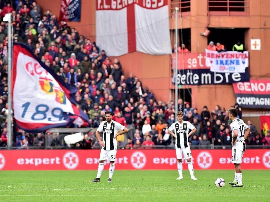Riak Kecil di Kekalahan Juve dari Genoa