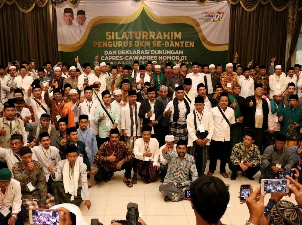Silaturahmi DKM Banten untuk Pemenangan Jokowi-Amin