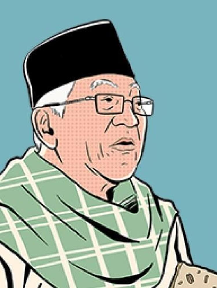Debat KH Maruf dengan Sandi, Antara Adu Gagasan dan Rasa Sungkan