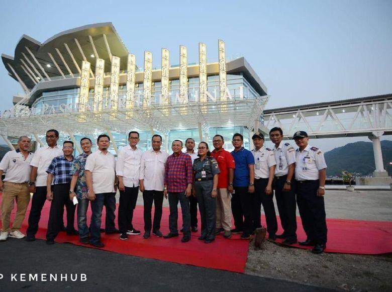 Menhub: Pelabuhan Sibolga Adalah yang Terbaik di Bagian Barat Sumatera