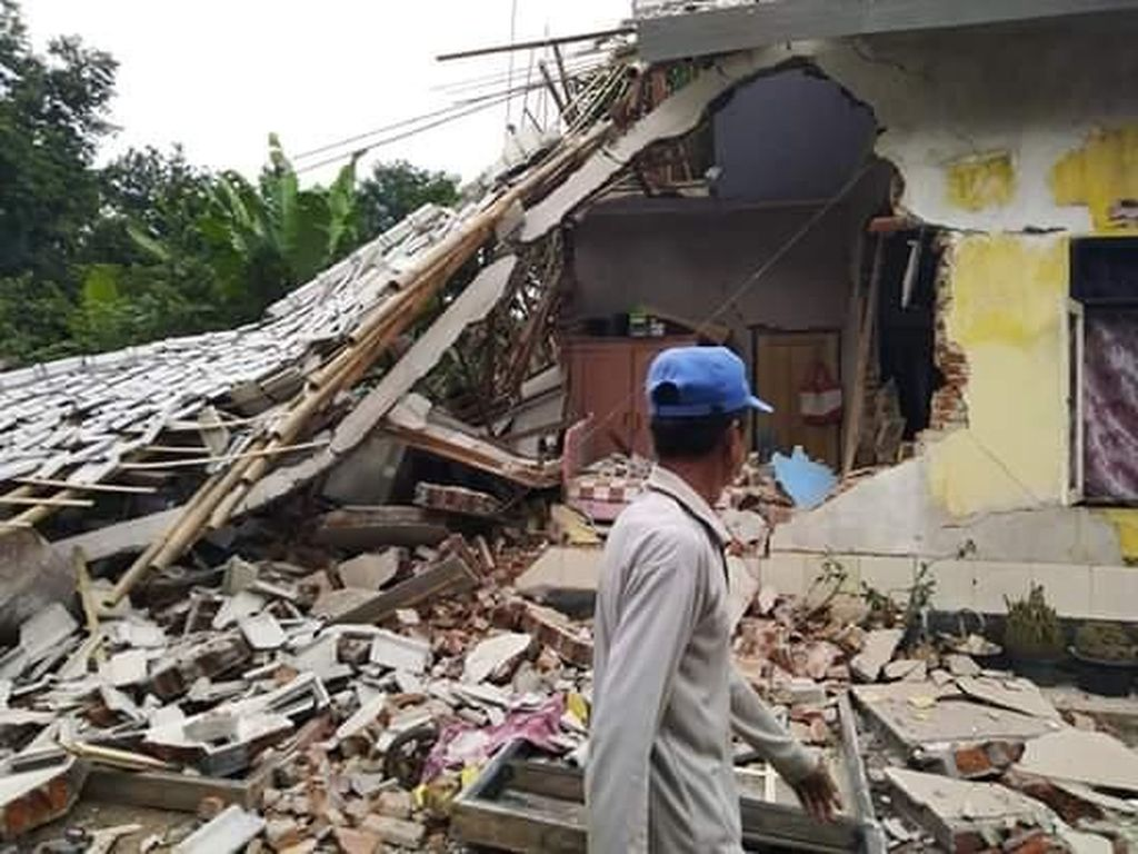 Gempa NTB, 13 Warga Lombok Timur Luka