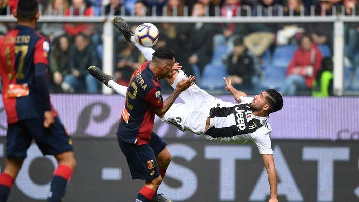 Juventus kalah 0-2 dari Genoa di pekan ke-28 Liga Italia. (Foto: Valerio  Pennicino/Getty Images)