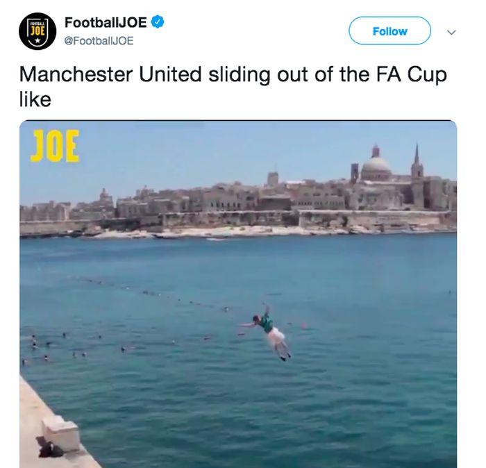 MU tersingkir dari perempatfinal Piala FA usai dikalahkan Wolves 1-2. (Foto: istimewa)