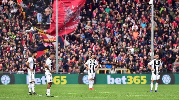Juventus menderita kekalahan pertama di Liga Italia musim ini. (Foto: Massimo Pinca / Reuters)