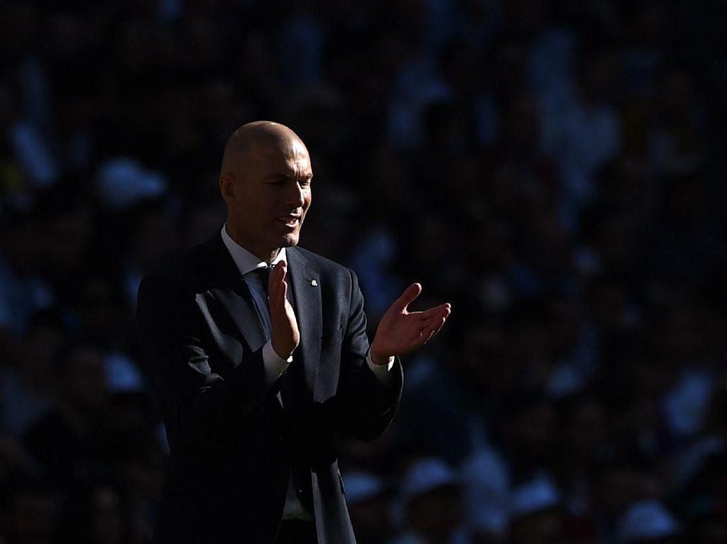 Efek Kilat Zidane Munculkan Aura Positif di Madrid