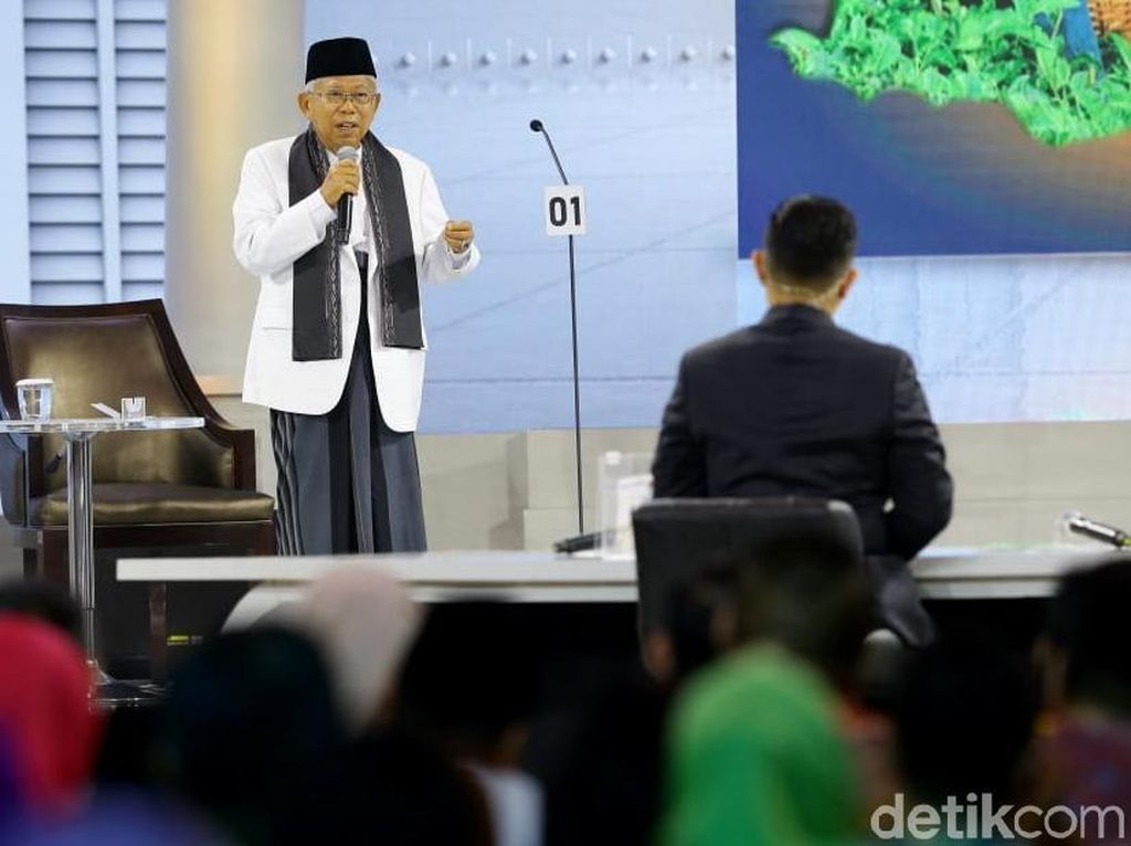Sandi Sindir Kartu-kartu Jokowi, Maruf: e-KTP Belum Bisa
