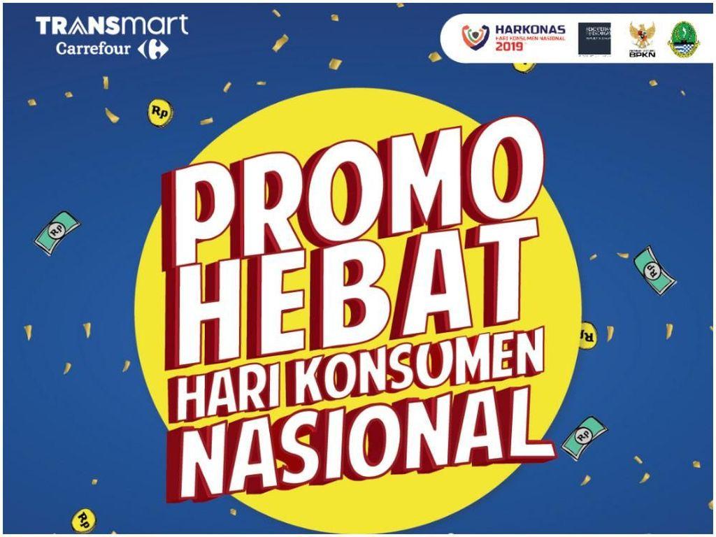 Promo Hari Konsumen Nasional di Transmart Buat Makin Hemat!