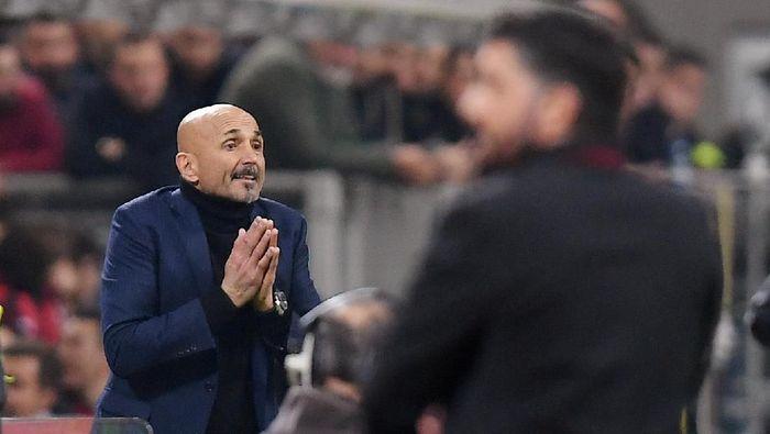Pelatih Inter Milan, Luciano Spalletti. (Foto: Daniele Mascolo/Reuters)