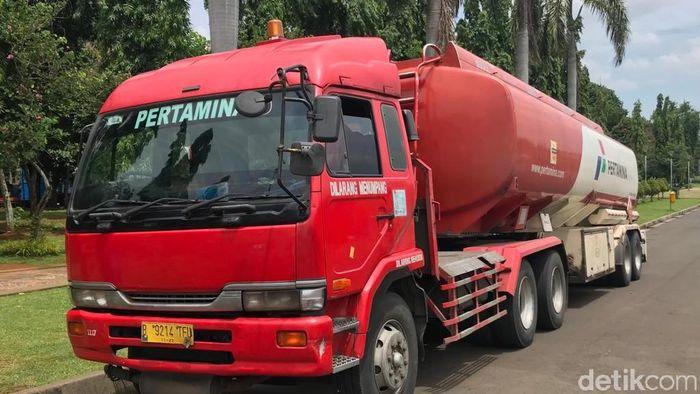 Mobil Tangki Pertamina/Foto: Rolando/detikcom