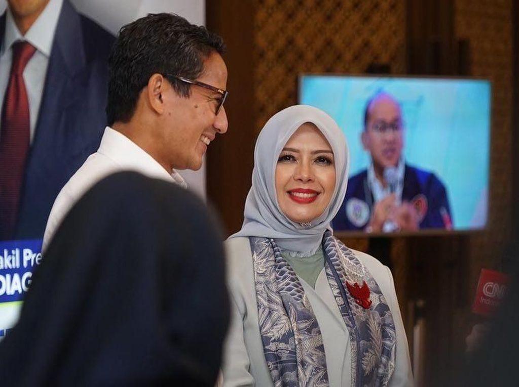 Bikin Baper, Perhatian Istri Sandiaga Uno Pada Suami Ternyata Bermanfaat Lho