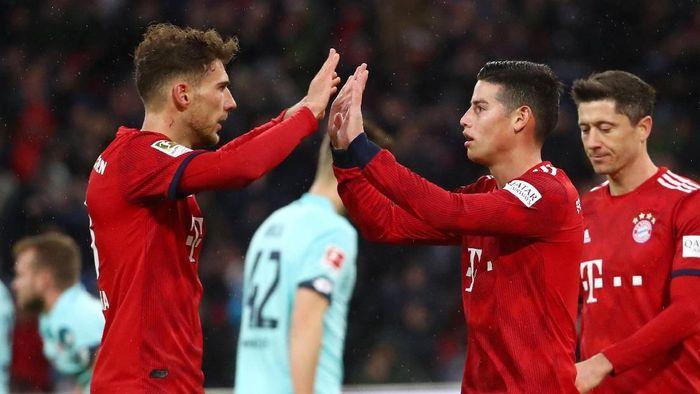 Bayern Munich hantam Mainz 6-0 (REUTERS/Michael Dalder)