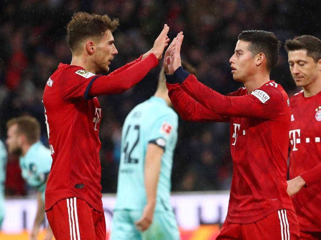 Hasil Liga Jerman: Bantai Mainz, Bayern Kembali ke Puncak