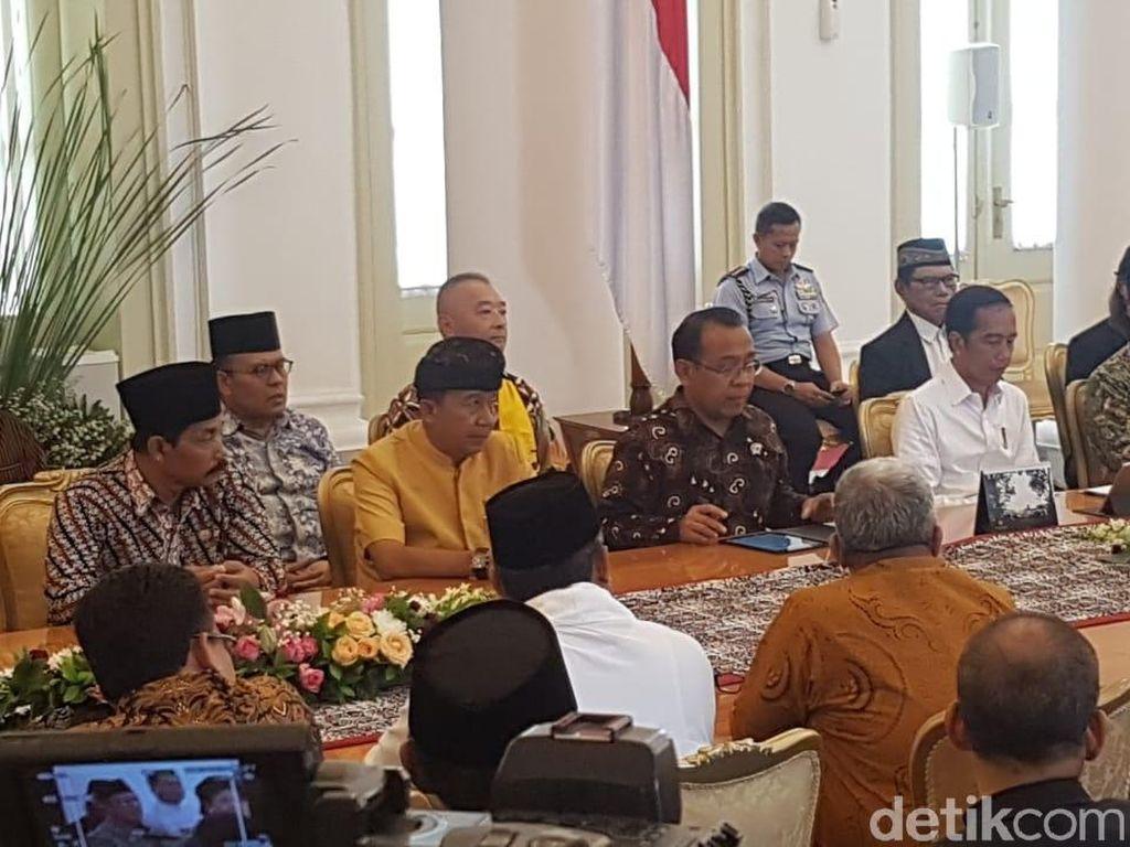 Tokoh Lintas Agama Temui Jokowi, Doakan Lanjutkan Pembangunan