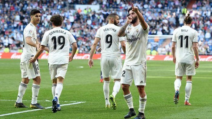 Para pemain Real Madrid musim ini. (Foto: Denis Doyle/Getty Images)