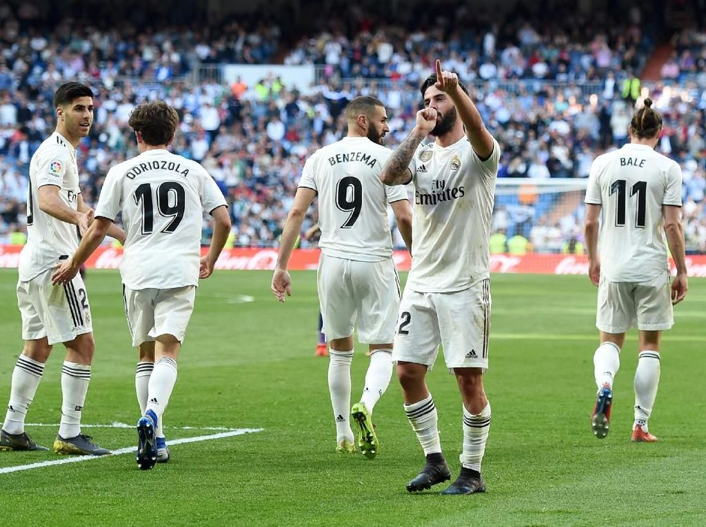 Kalahkan MU, Real Madrid Jadi Merek Sepakbola Paling Bernilai di Dunia