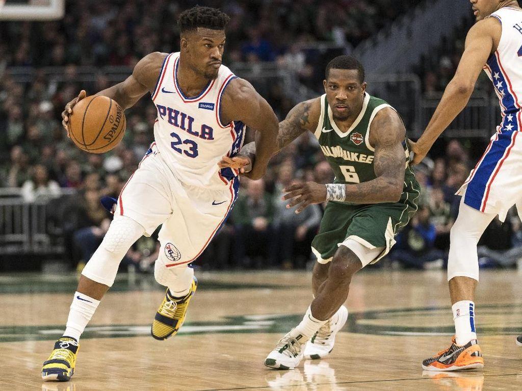 Hasil NBA: Bungkam Bucks, Sixers Kunci Tiket Playoff