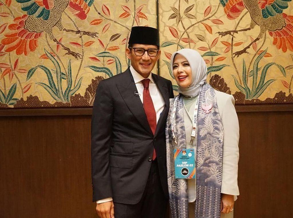 Arti Dukungan Istri untuk Sandiaga Uno dan Maruf Amin