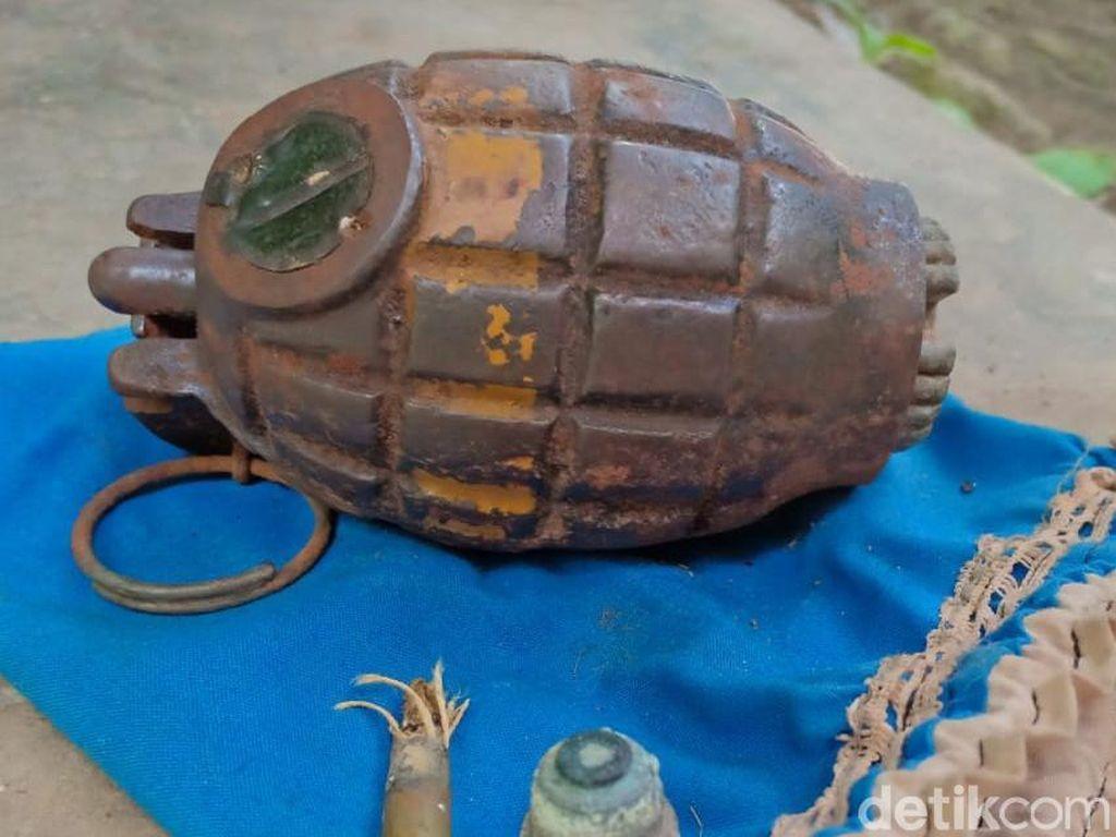 Granat Nanas yang Dikira Jimat Ditemukan di Lemari Pensiunan TNI