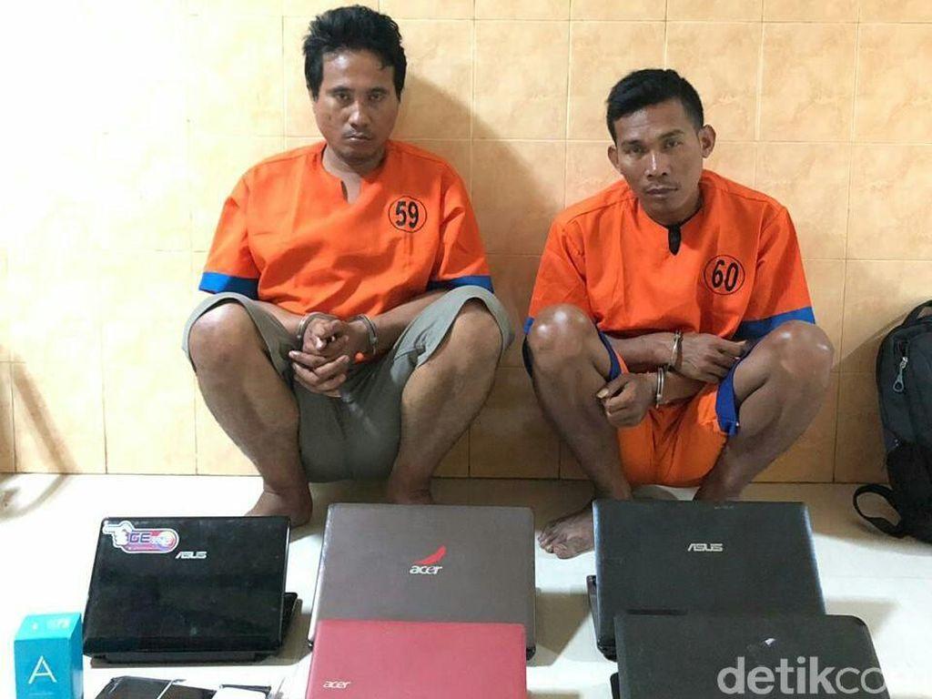Curi Laptop dan HP, 2 Petugas PLN Gadungan di Banyuwangi Diringkus