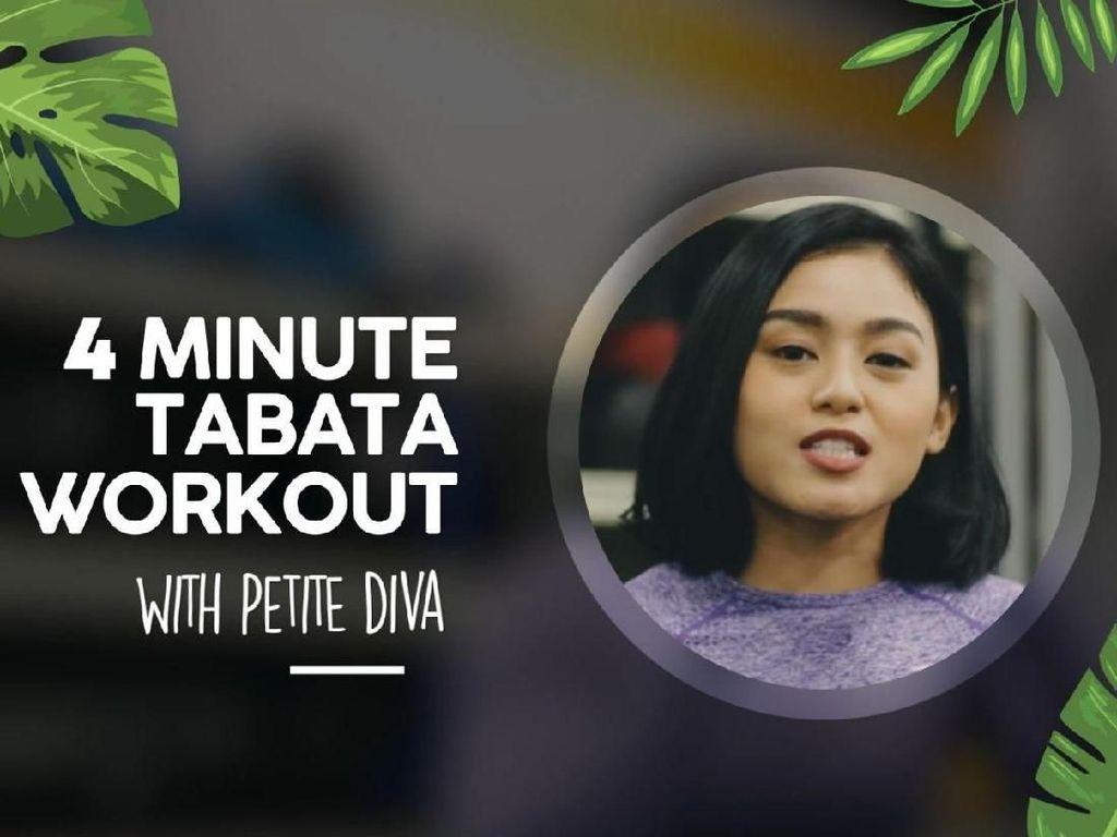 4 Minute Workout ala Petite Diva Buat Kamu Si Super Sibuk
