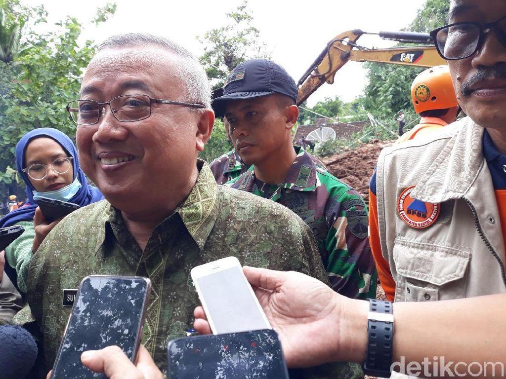 Banjir dan Longsor di Bantul, Bupati Tetapkan Status Tanggap Darurat