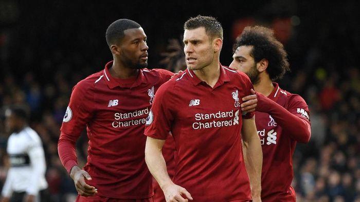 Liverpool akan ganti sponsor aparel mulai 2020 (Michael Regan/Getty Images)
