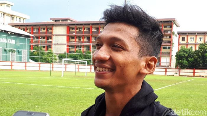 Teuku Muhammad Ichsan, Bhayangkara FC  (Mercy Raya/detikSport)
