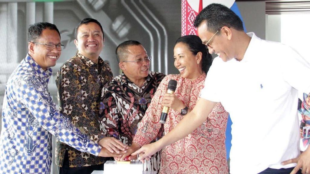 Rini Soemarno Resmikan Lima Proyek Strategis Pelindo I