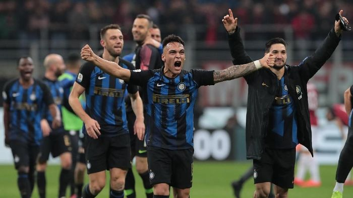 Inter Milan merespons kegagalan di Liga Europa lewat Derby Milan. (Foto: Emilio Andreoli/Getty Images)