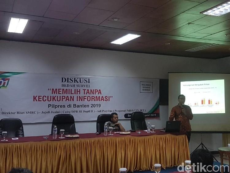 Survei SMRC di Banten: Jokowi Unggul Tipis 1,5 Persen dari Prabowo