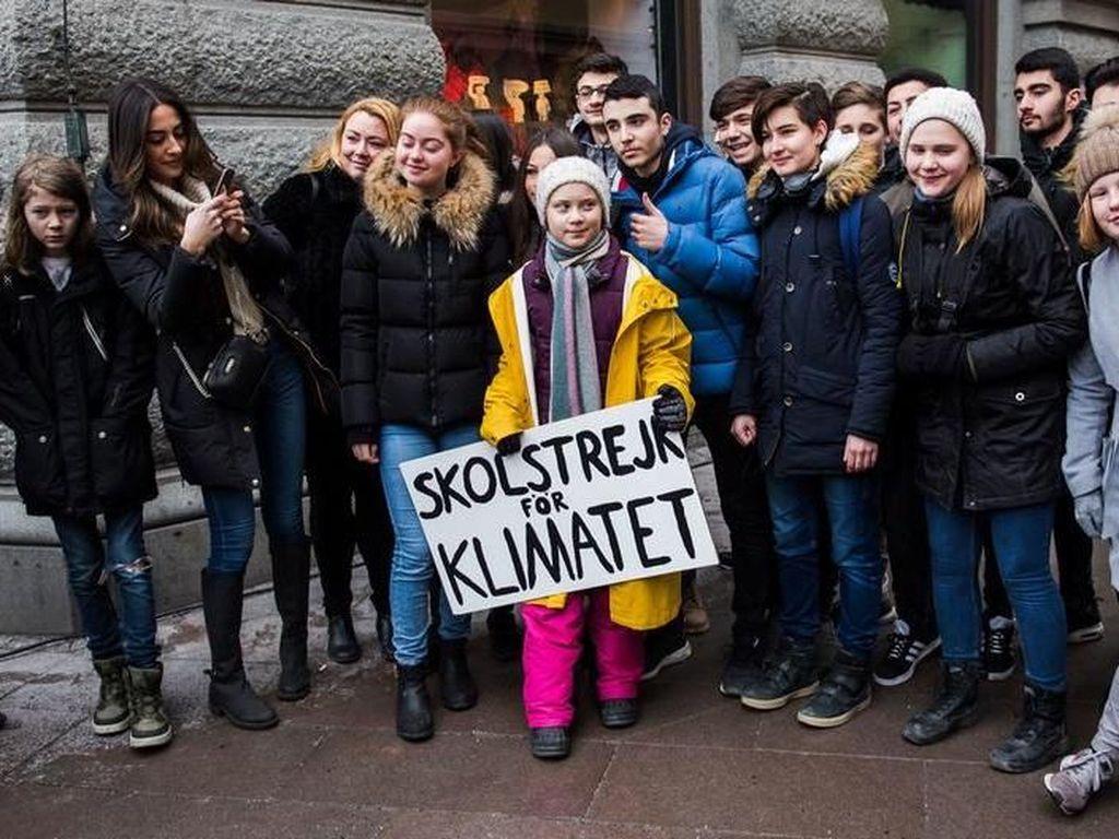 Greta Thunberg, Remaja 16 Tahun yang Dinominasikan Raih Nobel Perdamaian