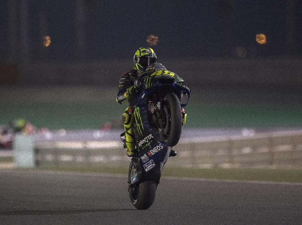 Kekalahan di MotoGP Qatar Punya Nilai Kemenangan untuk Rossi