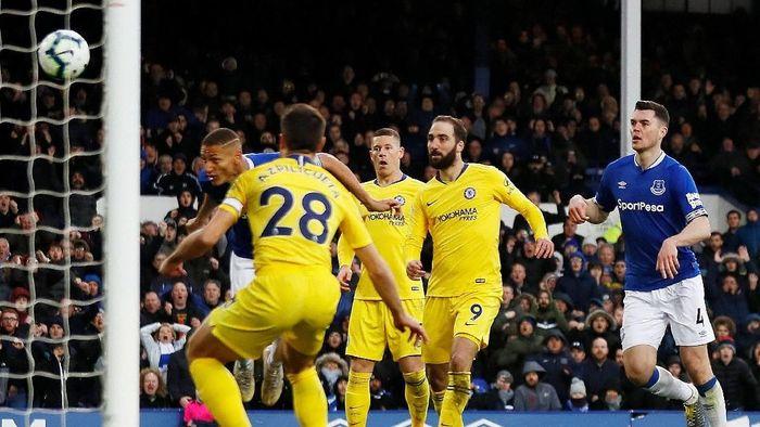 Chelsea tumbang di markas Everton. (Foto: Jason Cairnduff/Action Images via Reuters)