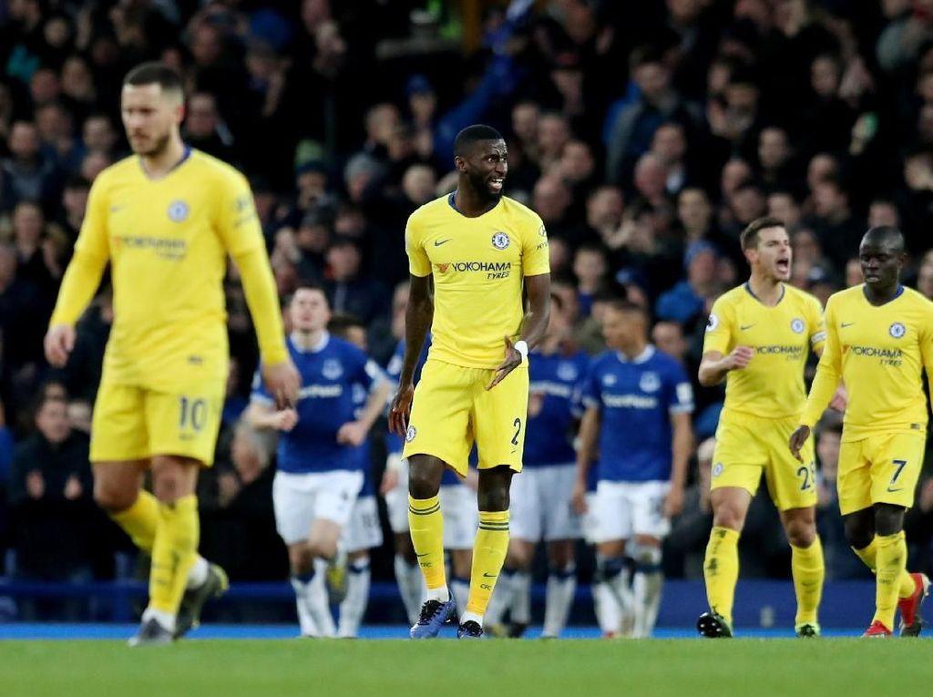 Chelsea Ditekuk Everton, Ruediger: Penampilan yang Tak Bisa Diterima
