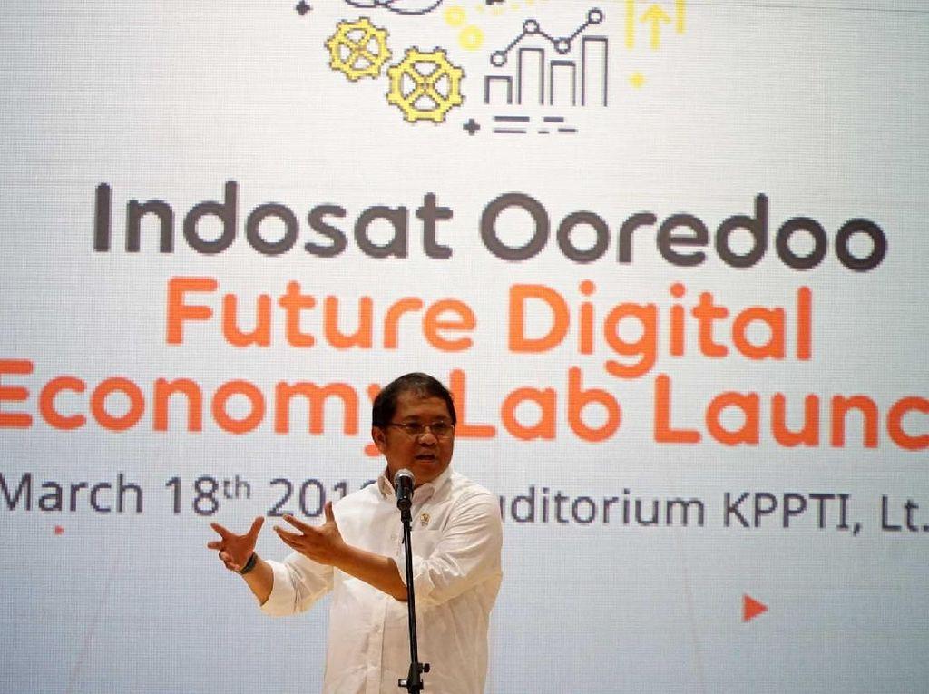 Menkominfo Hadiri Peluncuran Future Digital Economy Lab