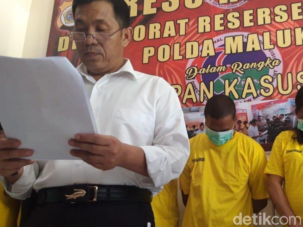 Jadi Bandar Ganja, Oknum Polisi di Maluku Diciduk