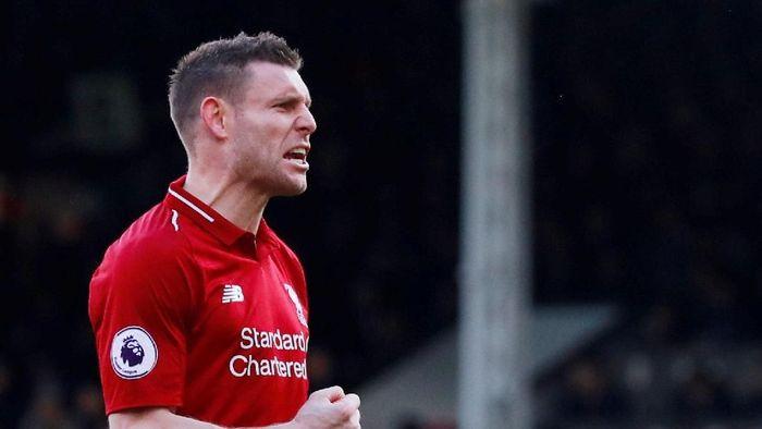 James Milner disebut Louis van Gaal sebagai pemain yang senantiasa mengutaman kepentingan tim. (Foto: Andrew Couldridge/ Action Images via Reuters)