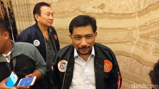 Ketua Tim Kampanye Daerah (TKD) Jawa Timur Irjen Pol (Purn) Machfud Arifin