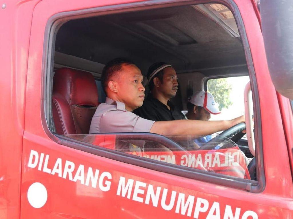 Polisi: Mobil Tangki Pertamina Tidak Boleh Dibawa Demo!