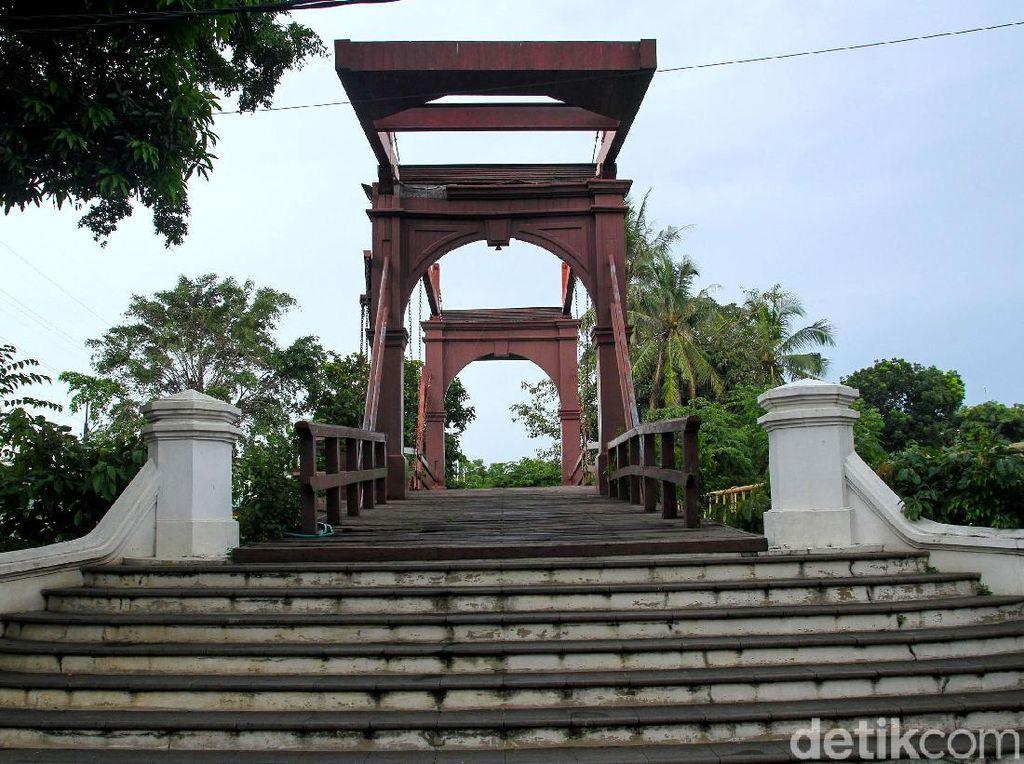 Asyik, Jembatan Kota Intan Bakal Dipercantik