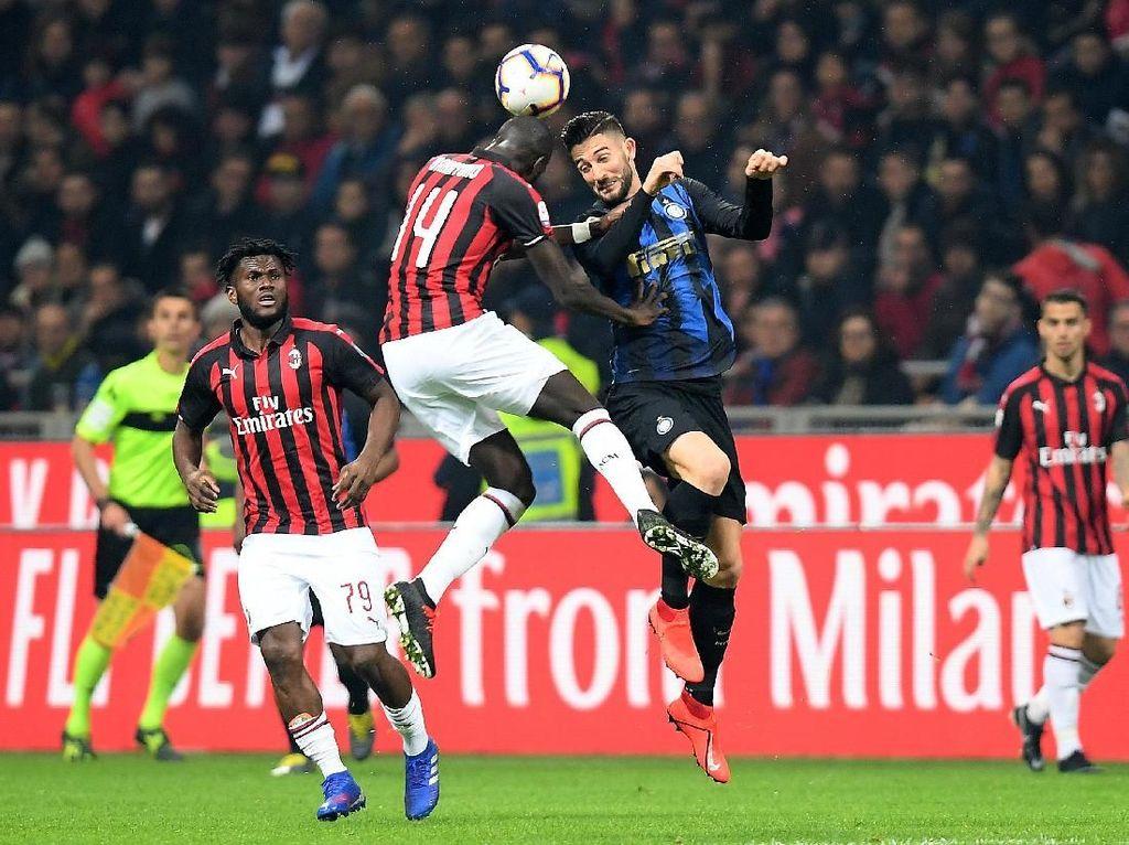 Hasil Liga Italia: Duel Seru dengan Milan, Inter Menang 3-2