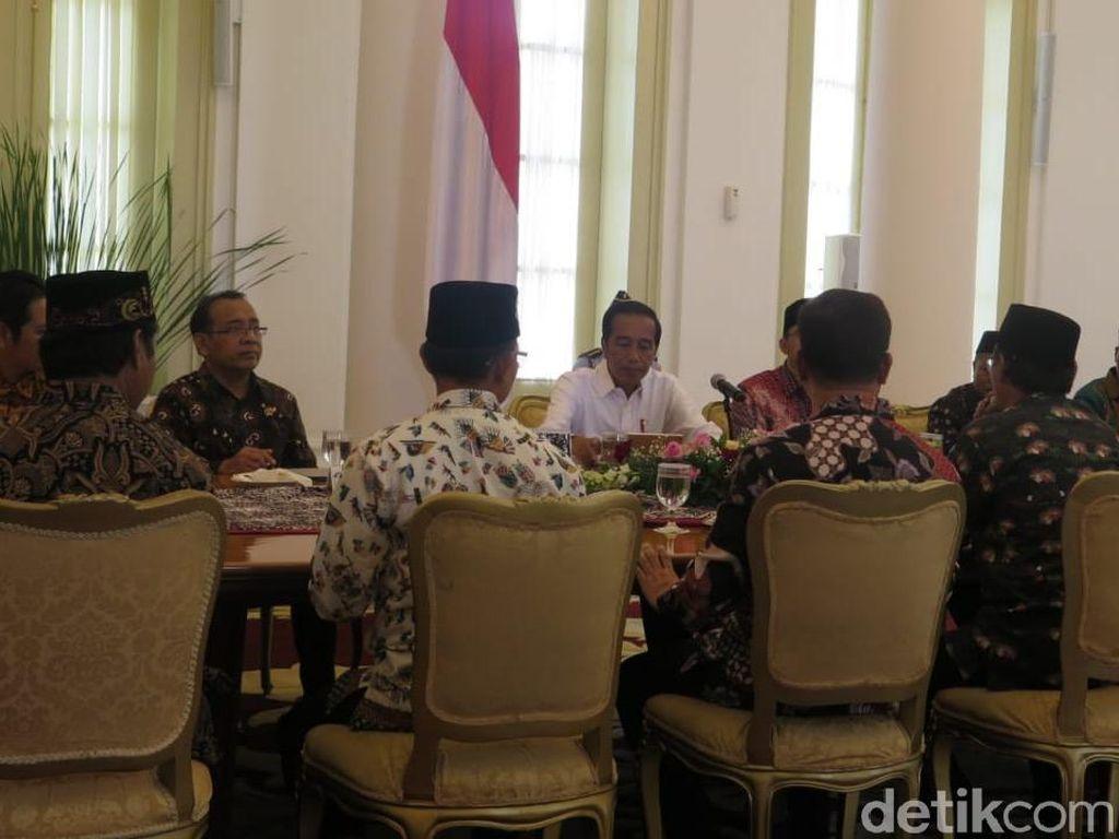 Bertemu di Istana, Ketum FBR Berterima Kasih ke Jokowi