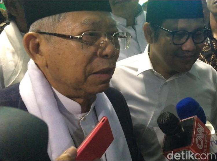 Maruf Amin Puji Jokowi Hargai Ulama, Gunakan Analogi Daun Salam