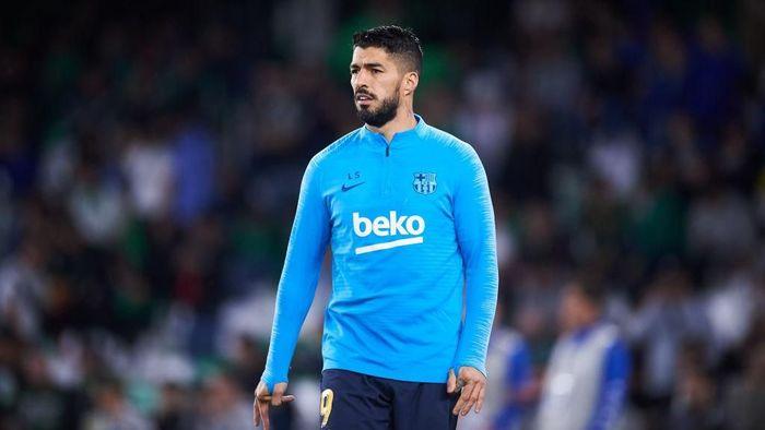 Barcelona Pastikan Suarez Menepi 2 Pekan